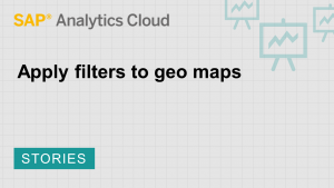 Image for Apply filters to geo maps