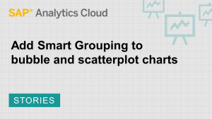 Image for Apply Smart Grouping to bubble and scatterplot charts