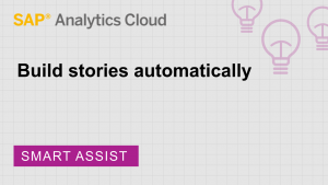 Image for Build stories automatically