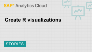 Image for Create R visualizations