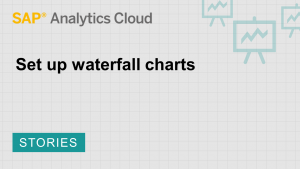 Image for Set up waterfall charts