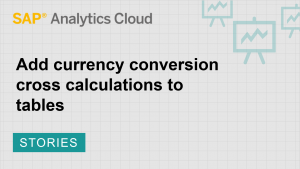 Image for Add currency conversion cross calculations to tables