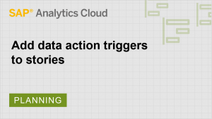 Image for Add data action triggers to stories