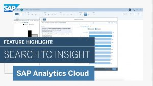 Image for Augmented Analytics Feature Highlight: Search to Insight